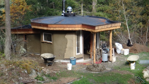 Eco-hut: Under Construction