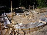 Gearge residence curved foundation