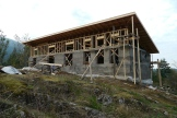 The Robinson residence - cob construction, earthen floors, plumbing and hydronic heating installation.