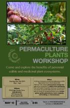 Also on Saturday is this very special workshop hosted by our good friends at Hatchet & Seed:  An awesome opportunity to learn about specific perennial plants.